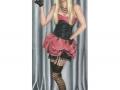 CLV-CR Burlesque Art Victorian ART Print Cabaret Art Cancan Dancer Art