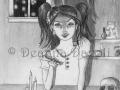 Jennifer Jones Alchemist Fantasy Art