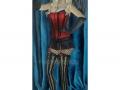 Victorian Cabaret Burlesque Art Print Pinup Art Cancan Dancer Art Cabaret Dancer