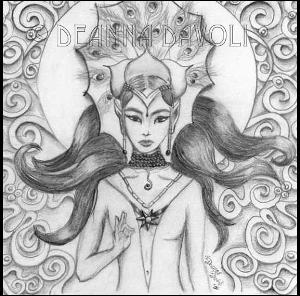 elven sun goddess art width=